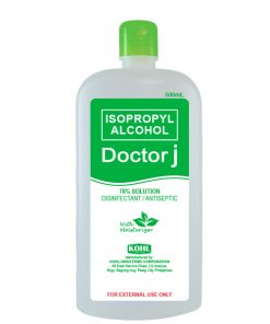 DOCTOR J 70% Isopropyl Rubbing Alcohol 500mL