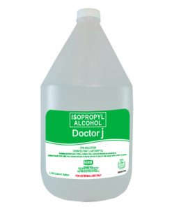 DOCTOR J 70% Isopropyl Rubbing Alcohol 1 Gallon