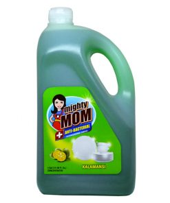 Mighty Mom Antibacterial Dishwashing Liquid Kalamansi 1 Gallon