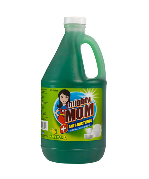 Mighty Mom Antibacterial Dishwashing Liquid Kalamansi 1/2 Gallon
