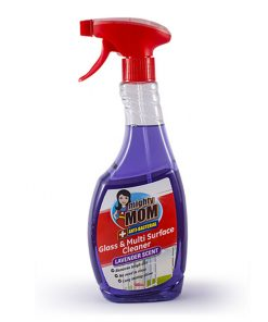 Mighty Mom Antibacterial Glass & Multi Surface Cleaner Lavender 500mL