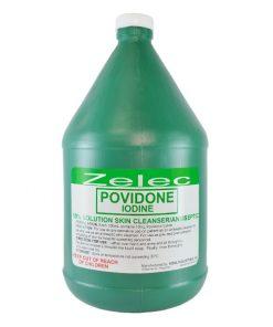 ZELEC 10% Povidone Iodine 1 Gallon