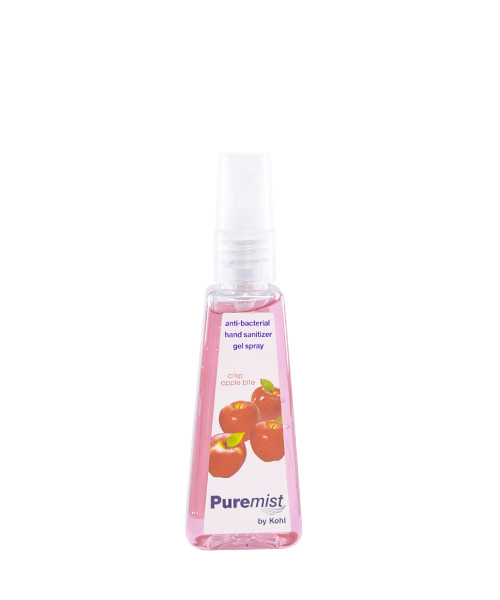 Puremist Antibacterial Hand Sanitizer Gel Spray Crisp Apple Bite 50mL