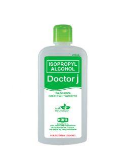DOCTOR J 70% Isopropyl Rubbing Alcohol 250mL