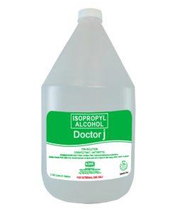 DOCTOR J 70% Isopropyl Rubbing Alcohol 1 Gallon