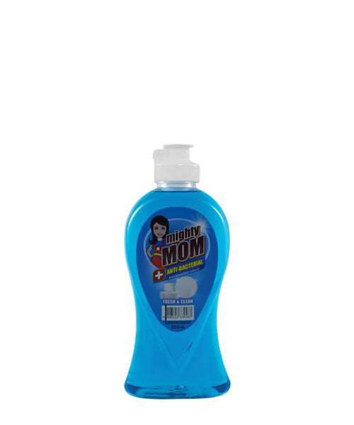 Mighty Mom Antibacterial Dishwashing Liquid Fresh and Clean 250mL