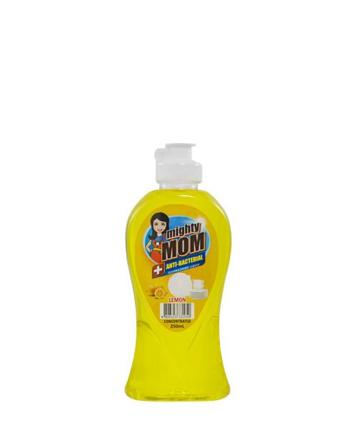 Mighty Mom Antibacterial Dishwashing Liquid Lemon 250mL