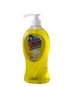 Mighty Mom Antibacterial Dishwashing Liquid Lemon 750mL