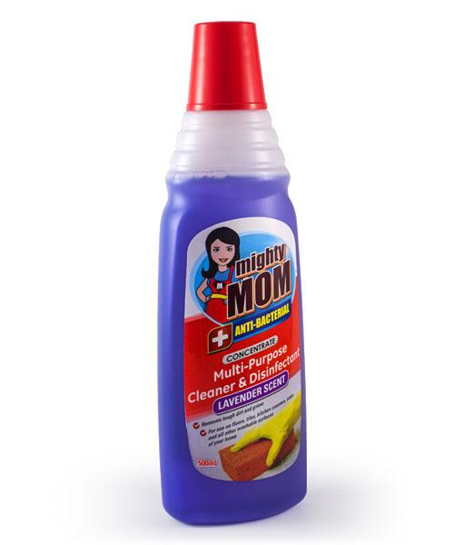 Mighty Mom Antibacterial Multi-Purpose Cleaner & Disinfectant Lavender 500mL