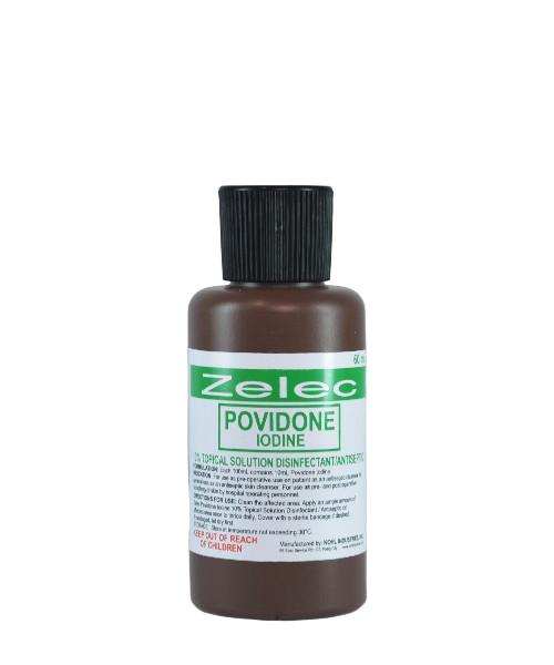 ZELEC 10% Povidone Iodine 60mL